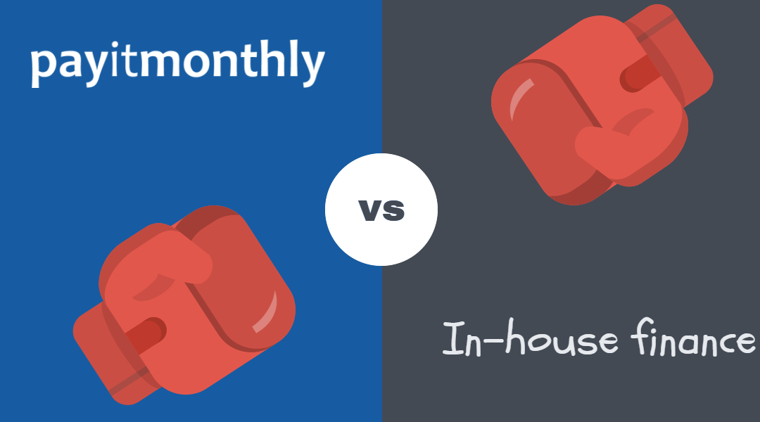 Why use PayItMonthly compared to offering finance in-house?