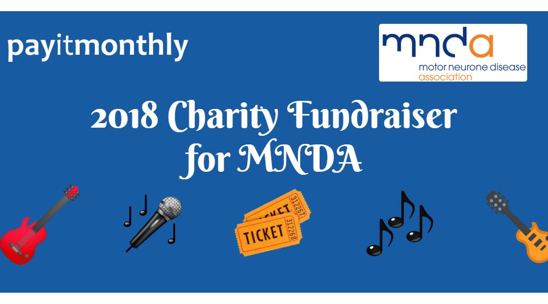 MNDA Charity Fundraiser 2018